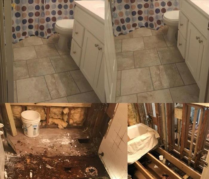 Water Damage Satisfied Customer on Complete Water Restoration